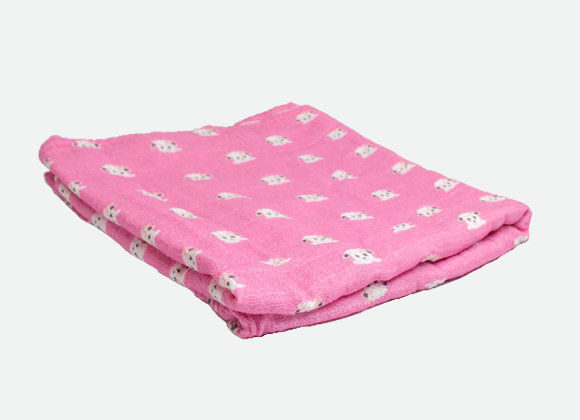 Cotton Candy Baby Swaddle Wrap