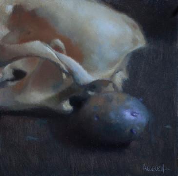 Skull and Purple Potato