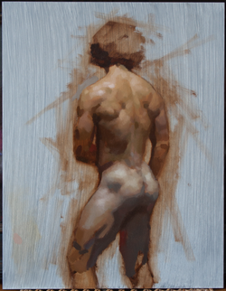 Limited Palette Figure Study