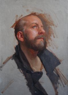 Self Portrait in Coat