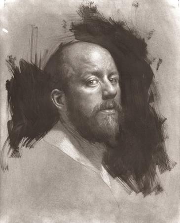 Self Portrait in Graphite