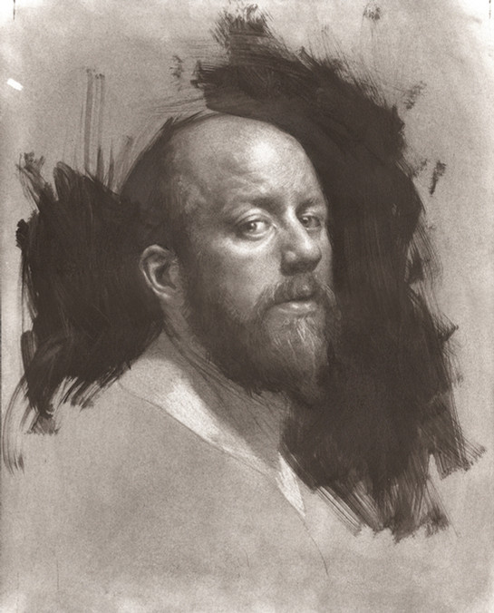 Self Portrait in Graphite