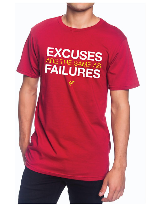 MEN'S EXCUSES T-SHIRT
