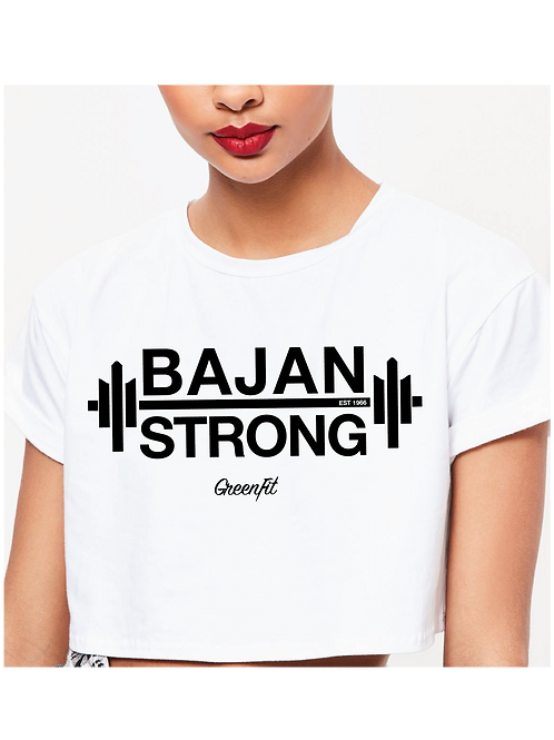 PERSONALIZE BAJAN STRONG CROP TOP