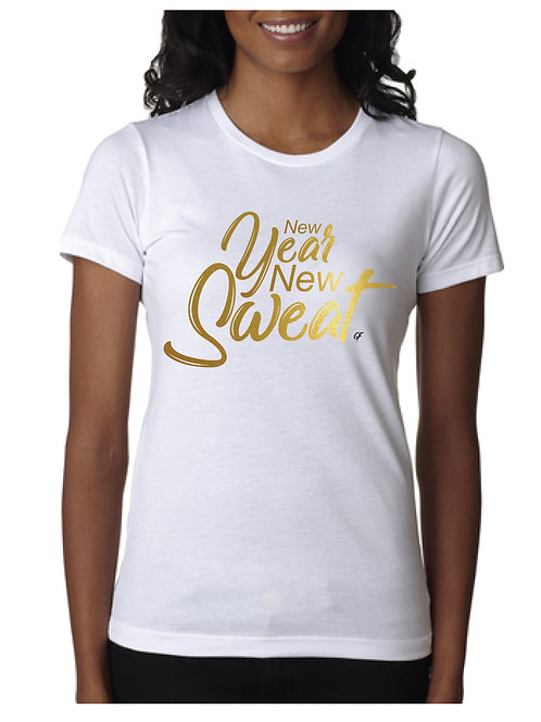 WOMEN'S NEW SWEAT T-SHIRT