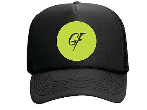 TRUCKER HAT GF ICON - BLACK