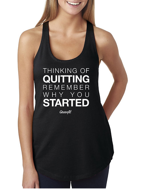 PERSONALIZE WOMEN'S QUITTING TANK
