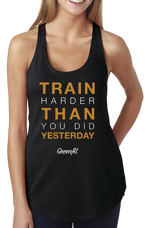 PERSONALIZE WOMEN'S TRAIN HARD TANK