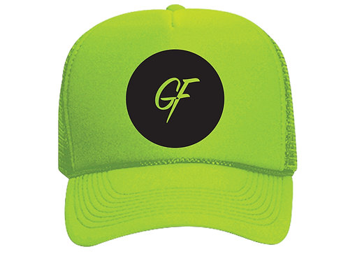 TRUCKER HAT GF ICON -NEON YELLOW