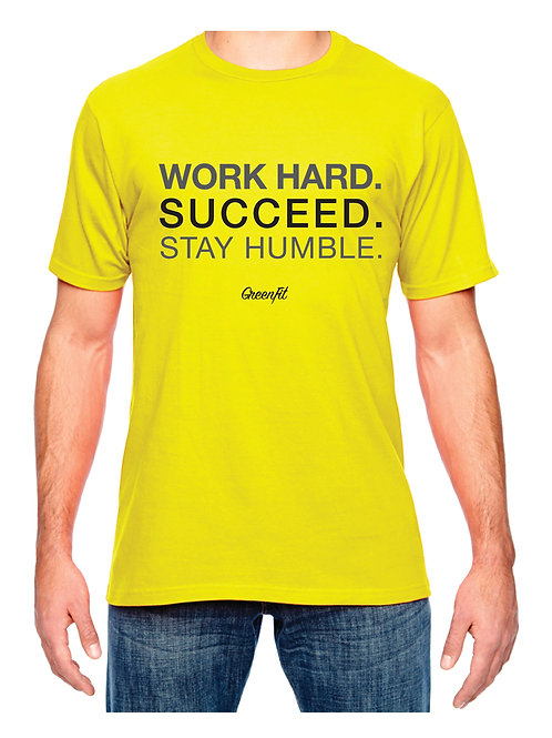 MEN'S WORK HARD T-SHIRT