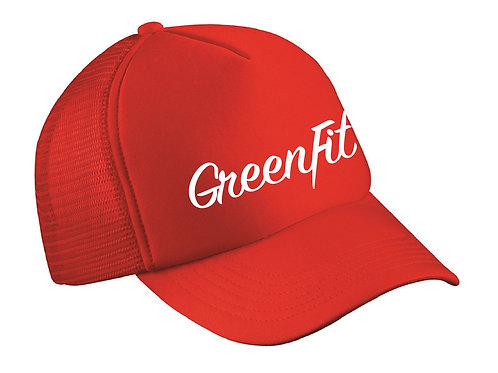 TRUCKER HAT GF LOGO -RED