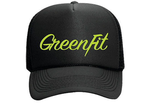 TRUCKER HAT GF LOGO - BLACK