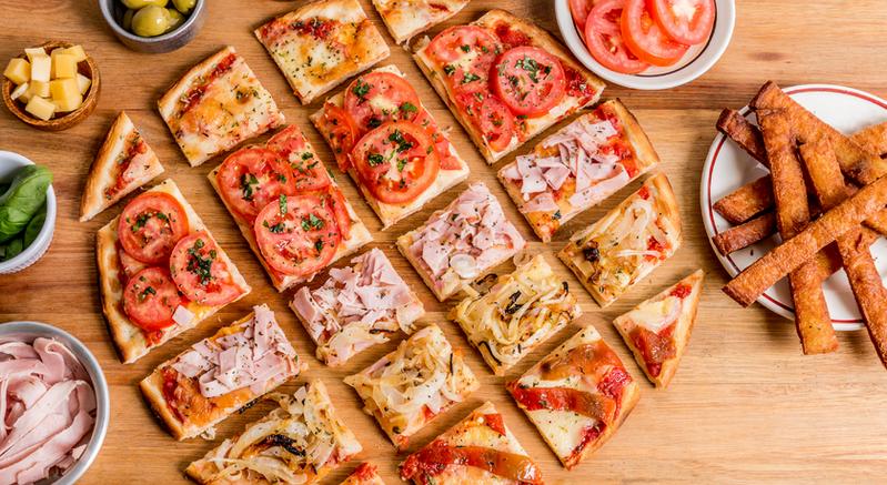 Mix de pizzas!