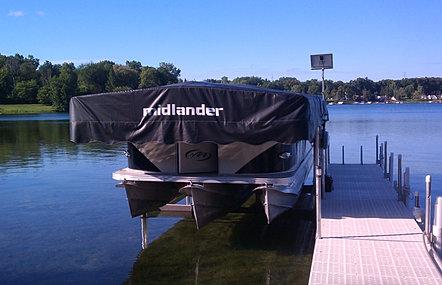 Midlander Premium Boat Hoists Made In Michigan Boat