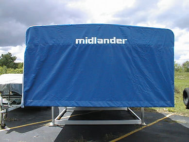 Midlander Pemium Boat Hoists Made in Michigan - Vertical Boat Hoist with Full Canopy