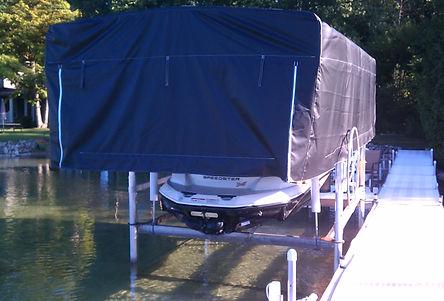 Midlander Pemium Boat Hoists Made in Michigan - Pontoon Boat Hoist - Ski Boa Hoist - Wakeboard Boat Hoist