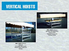 Midlander Pemium Boat Hoists Made in Michigan vertical si boat hoists pontoon hoists
