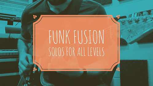 Funk Fusion Solos for All Levels