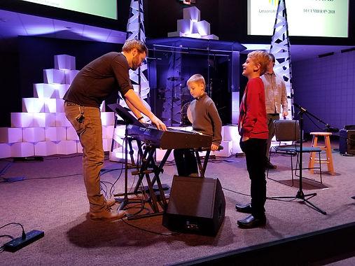 musical performance at redeemer lutheran