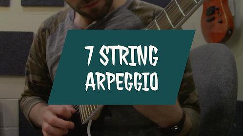 7 String Arpeggio Etude #1