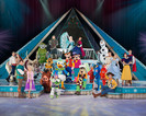 The cast of Disney On Ice presents Froze