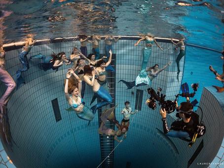 Mermaids en eaux chlorées