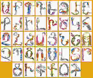 The Armenian  Alphabet  and Mendeleev's Periodic Table