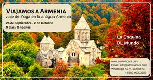 viaje de yoga a armenia