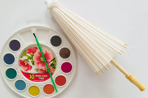 Paint a parasol