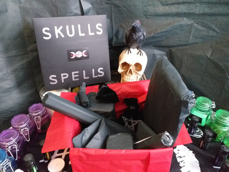 Skulls and Spells and a trip down the rabbit hole!