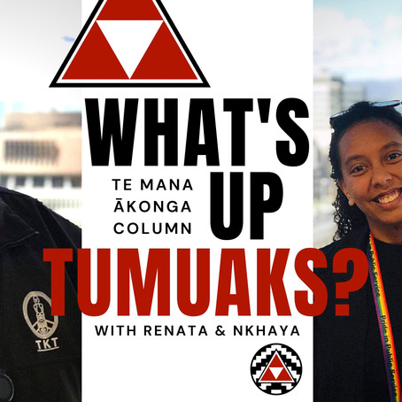 What's Up Tumuaks?: March