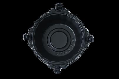ouchide-kantan.jp 900ML 本体  「おうちでかんたん」はロック機能・液漏れ防止機能付き、電子レンジ対応のテイクアウト&デリバリー向けのプラスチック製食品包装容器です。ラーメン向け。