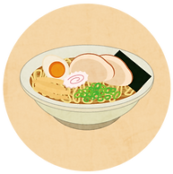ouchide-kantan.jp おうちでかんたん イラスト2 ラーメン |「おうちでかんたん」はロック機能・液漏れ防止機能付き、電子レンジ対応のテイクアウト&デリバリー向けのプラスチック製食品包装容器です。