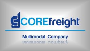 New Corefreight's website