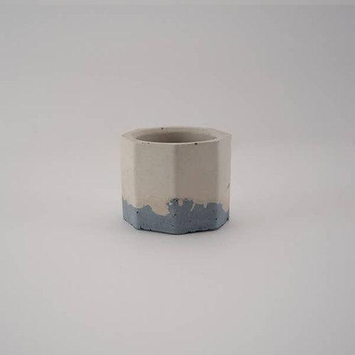 Hex Concrete Tealight Holder