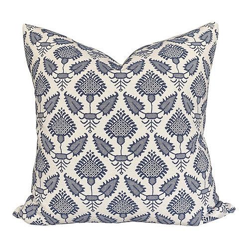 Indigo Cottage Pillow