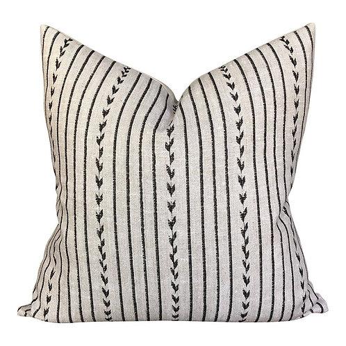 Black Stitch Pillow