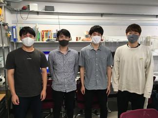 3名の学生、4月から原研に新加入!