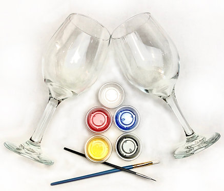 Glass Paint Kit