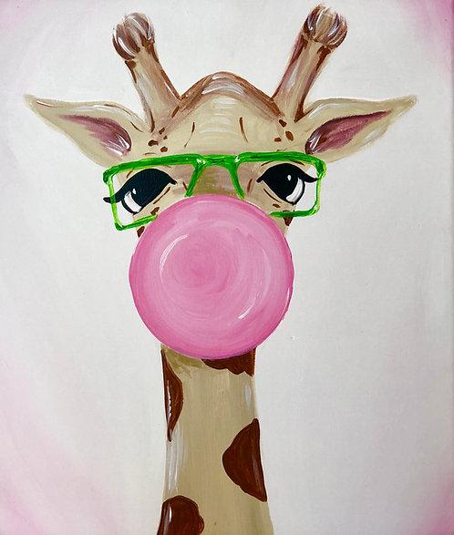 Bubbly Giraffe
