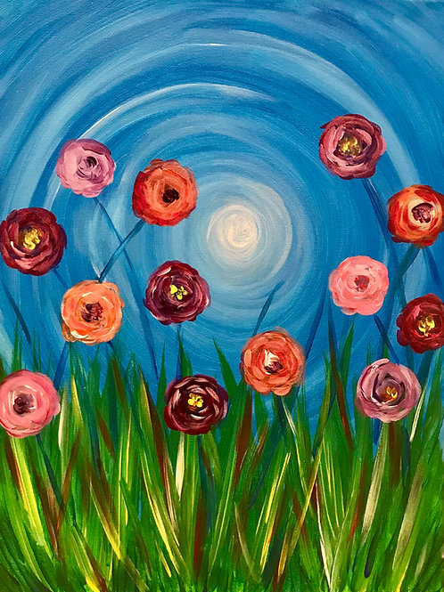 Whimsical Poppies