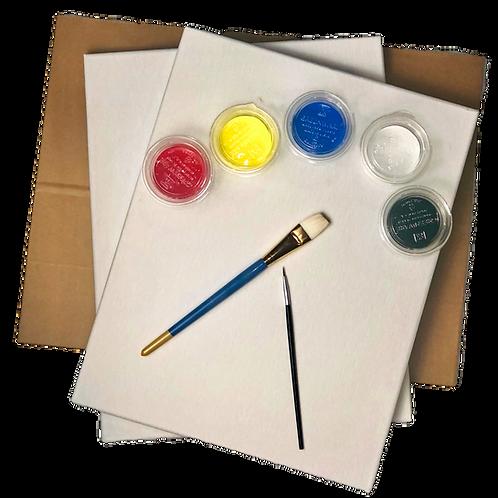 Canvas Paint Kit