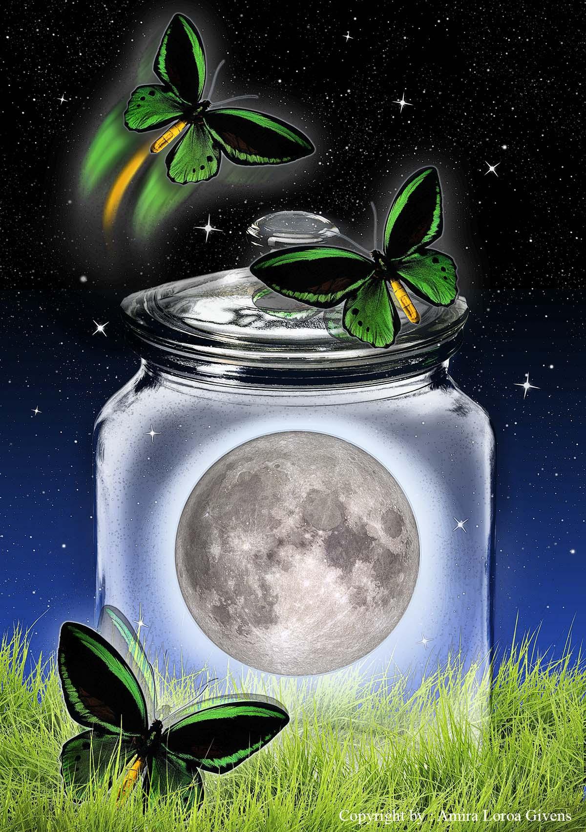 """Moon in a Jar"""