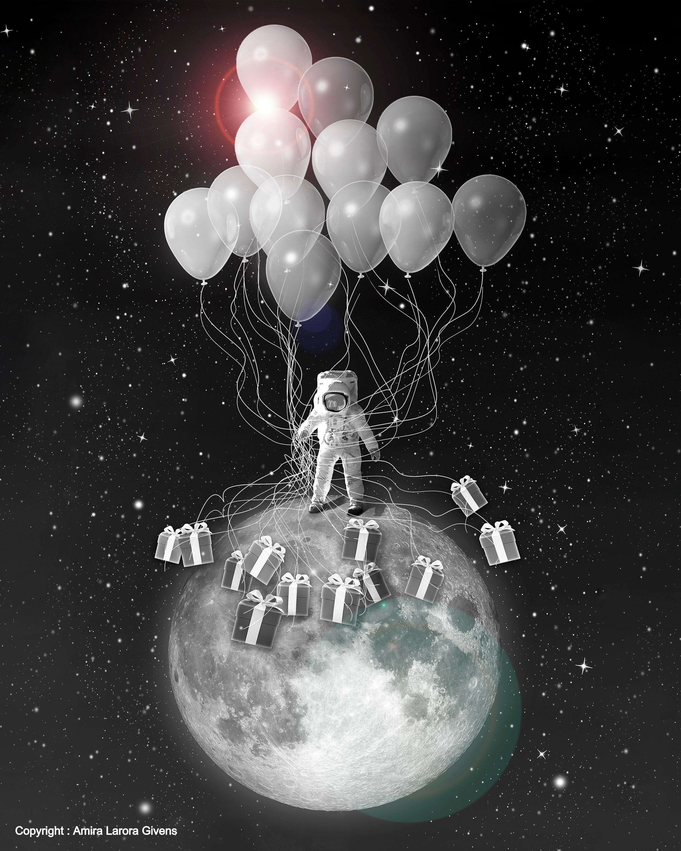 """Landing on the Moon"""
