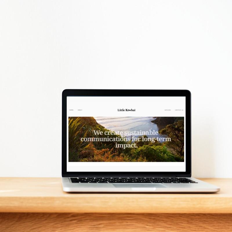 Copywriting for brand new client website