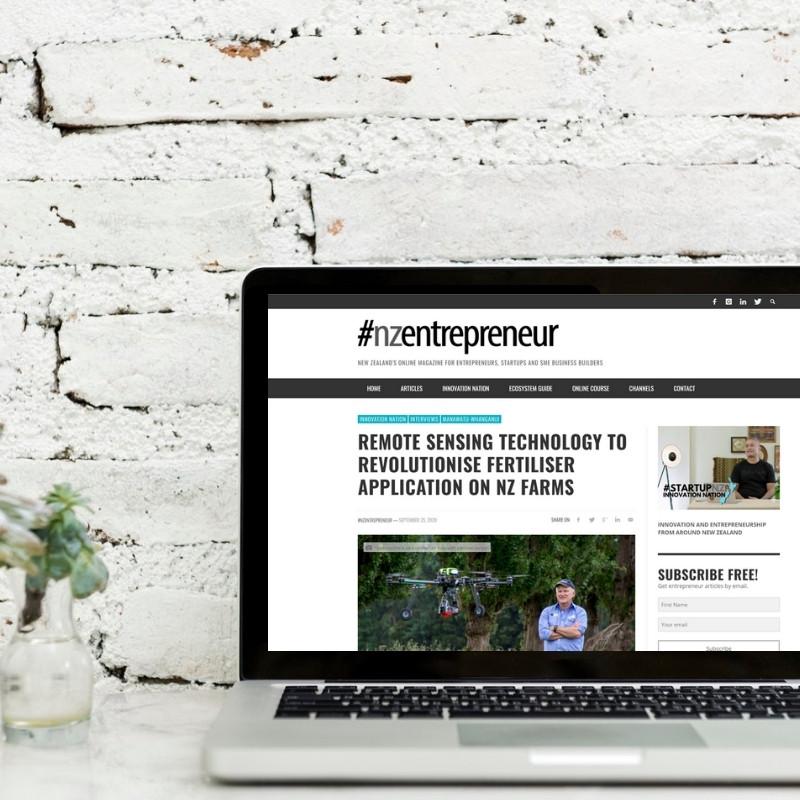 Online magazine story - NZ Entrepreneur