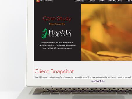 Client story: nextAdvisory