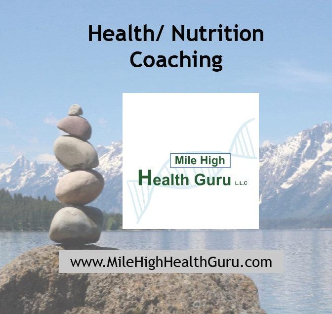 Health/ Nutrition coaching