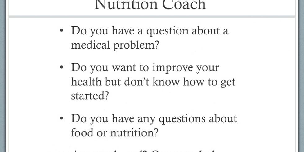 Ask a Health/ Nutrition coach