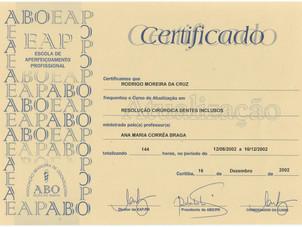Certificado ABO-PR